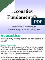 6. Acoustics  4-30-09.ppt