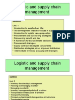 Supply Chain Management UNIT 1