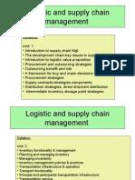 Supply Chain Management UNIT 1