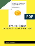 7 melhores investimentos