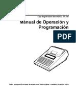 Manual de Cajas fiscales Sams Ef231