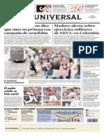 El Universal del 01-10-2019