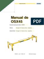 Manual OSX45 Maniobra Bromma