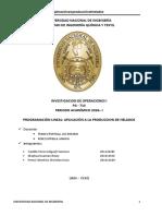 INVESTIGACIÒN DE OPERACIONES  2018 -1.docx