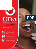 Uganda Dental Association Journal November 2019