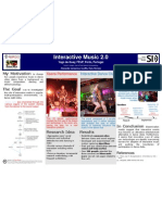 COST SID - Interactive Music 2.0 - Poster