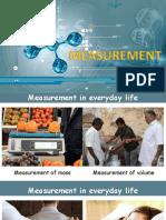 Units of Meassurement