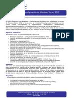 Instalación y Configuración de Windows Server 2012