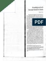 Cuatro Décadas de Compromiso Académico en La Construcción de La Nación. Antropología, Geografía y Trabajo Social.