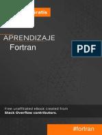 Aprendizaje Fortran