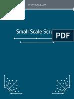 Small Scale Scrum