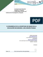 Dialnet-ElDesarrolloDeLaEscrituraEnInglesEnLaEducacionSecu-6219285