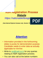 NSR Registration Demo - MSC