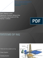 Systems of rig