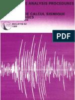 B52 - Earthquake Analysis Procedures for Dams