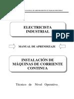 Instalacion de Maquinas de Corriente Continua (1)