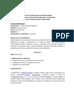 Guía de Práctica 12 de Laboratorio Inyeccion Electronica