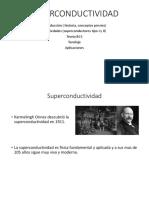 SUPERCONDUCTIVIDAD INTRODUCCION