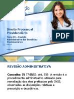 5-REVISÃO ADMINISTRATIVA DOS BENEF. PREVIDENCIARIOS.pdf