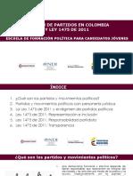 Régimen partidos políticod colombia