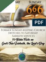Seventh day sabbath