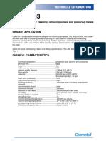 Chemetall - (Data Sheet) Oakite 33