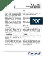 Chemetall - (Data Sheet) Ardrox_nq1