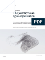 journey to  agile transformation