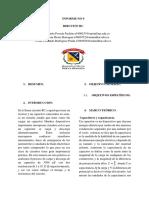 Informe No 9 Circuito RC