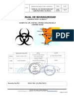 MANUAL DE BIOSEGURIDAD EN LABORATORIO
