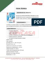 Ficha Técnica Gris Interiores - CONCASA