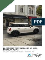 Oferta Mini 5 Portes Setembre 2019