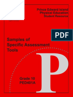 Eelc Assessment Tools Ped401a