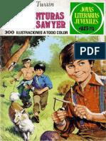 Joyas Literarias Juveniles - 182 - Aventuras de Tom Sawyer