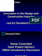 Vdocuments.mx Innovation in the Design and Construction Industry Led by Cleveland Clinic