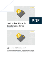 Guía Sobre Tipos de Criptomonederos