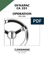 CA 251 Operations o251 1en