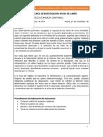 1a Pcv 26 Técnica Notas de Campo Quelca Atahuachi Juan Pablo