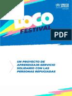 ACNUR Loco Festival Dossier Informativo