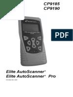 Elite AutoScanner actron