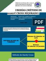 Hardy Cross no lineal