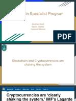 Blockchain Specialist Program