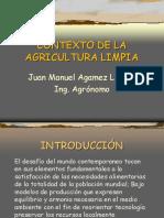 Contexto a la agricultura limpia