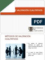 GERENCIA DE SUELDOS Y SALARIOS METODO 1  JERARQUIZACIÓN