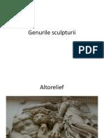 Genurile sculpturii și modelarea.pptx