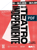 Día del Teatro Independiente