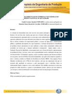 PRÁTICAS SOCIOAMBIENTAIS DE EMPRESAS VENCEDORAS DO  PRÊMIO NACIONAL DA QUALIDADE