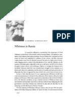 Walt Whitman in Russia