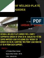 Design of Welded Plate Girder