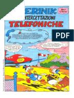 Fumetti Walt Disney - Topolino 0925 - 0926 - Paperinik E Le Intercettazioni Telefoniche
